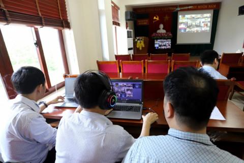 Phú Thọ đảm bảo kỹ thuật cho hội nghị trực tuyến 3 cấp tuyên truyền pháp luật về bầu cử ĐBQH và đại biểu HĐND các cấp
