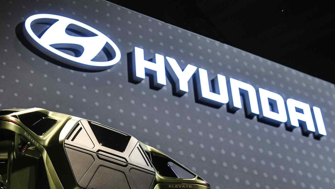 Hyundai Motor là một nhà sản xuất ô tô khác đã bị ảnh hưởng bởi sự thiếu hụt chất bán dẫn toàn cầu. (Ảnh của Tomoki Mera)
