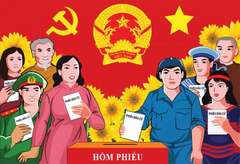 """Tỉnh Đồng Nai: """"Chạy nước rút"""" cho ngày hội bầu cử"""