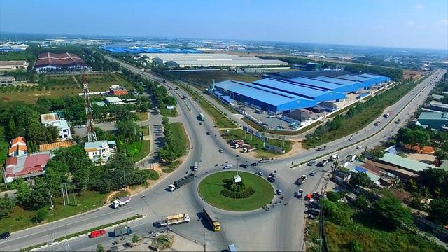 Tân Uyên đang là một trong những địa phương phát triển năng động và xây dựng được môi trường thu hút vốn đầu tư tốt nhất tại Bình Dương. Nguồn ảnh: Internet
