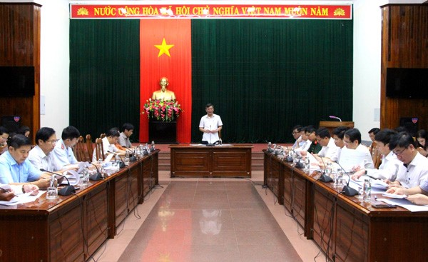 Quảng Bình: Ủy ban bầu cử họp phiên thứ hai