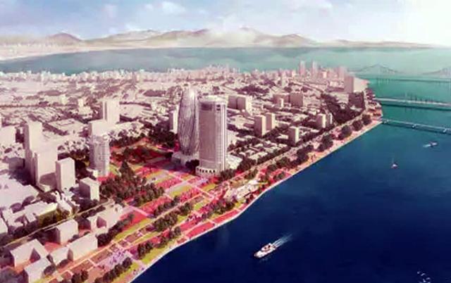 Vị trí quảng trường trung tâm mới của Đà Nẵng.