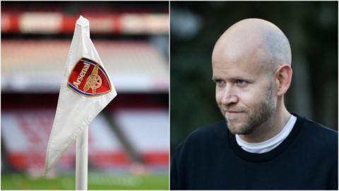 Tỷ phú Daniel Ek của Spotify tuyên bố sẽ mua đội bóng Arsenal nếu ông Stan Kroenke đồng ý bán