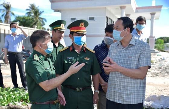 Kiểm tra công tác phòng, chống dịch COVID-19 trên địa bàn TP. Phú Quốc