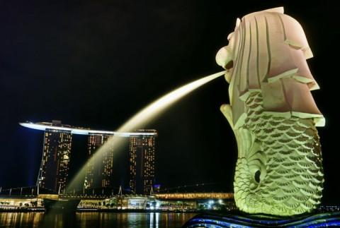 Singapore: Bí mật ít biết về tượng sư tử biển nổi tiếng