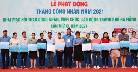 Đà Nẵng: Trao tặng người lao động khó khăn về chỗ ở 22 mái ấm công đoàn