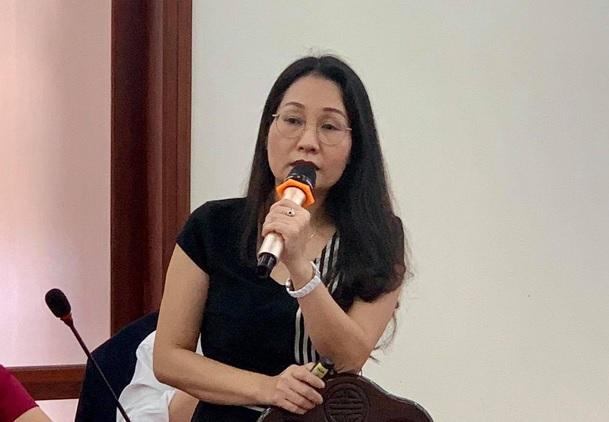 Bà Lê Thị Xuân Quỳnh