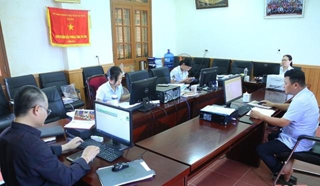 Hà Tĩnh đang nỗ lực thu thập thông tin doanh nghiệp để đẩy nhanh tiến độ tổng điều tra kinh tế năm 2021