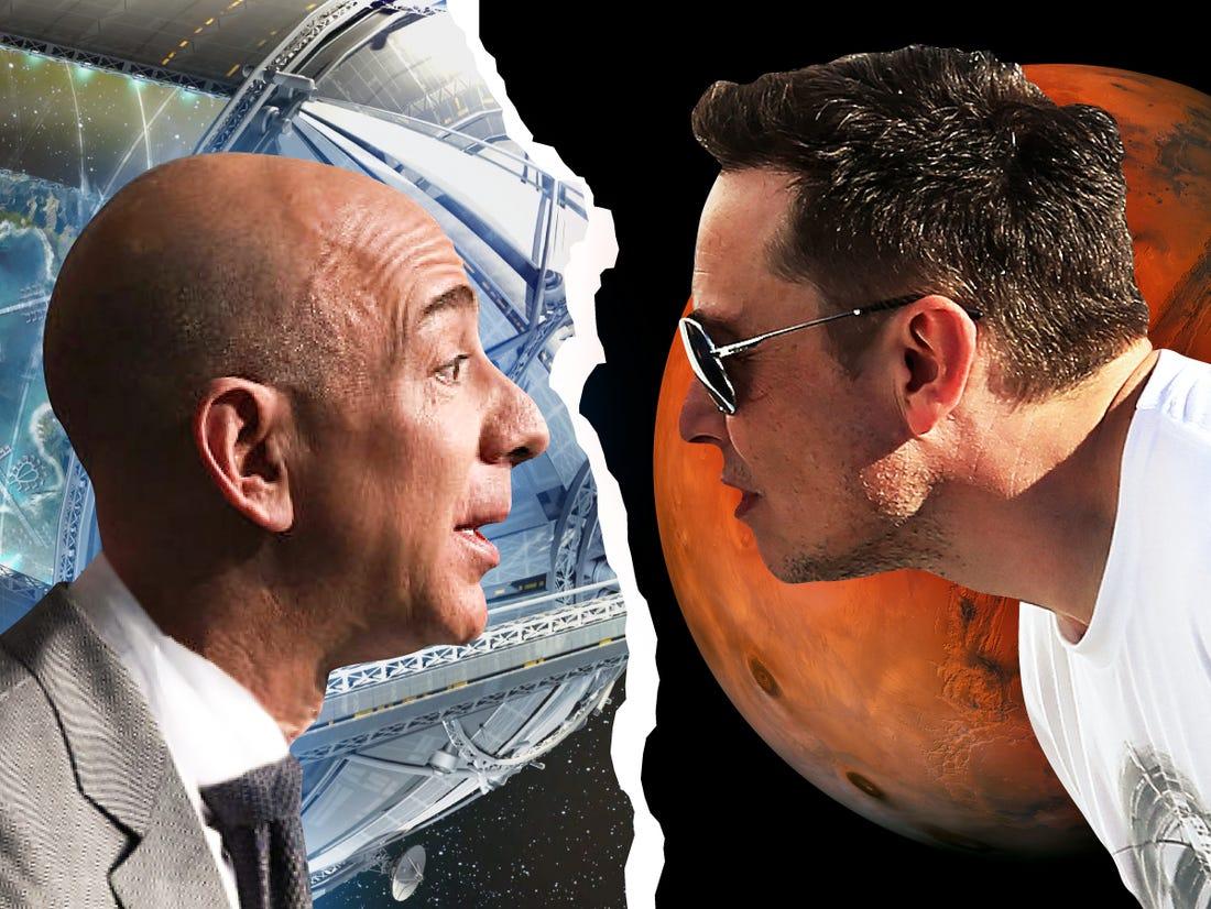 cuộc chiến kéo dài nhiều năm giữa 2 công ty tên lửa thuộc sở hữu của hai người đàn ông giàu nhất thế giới
