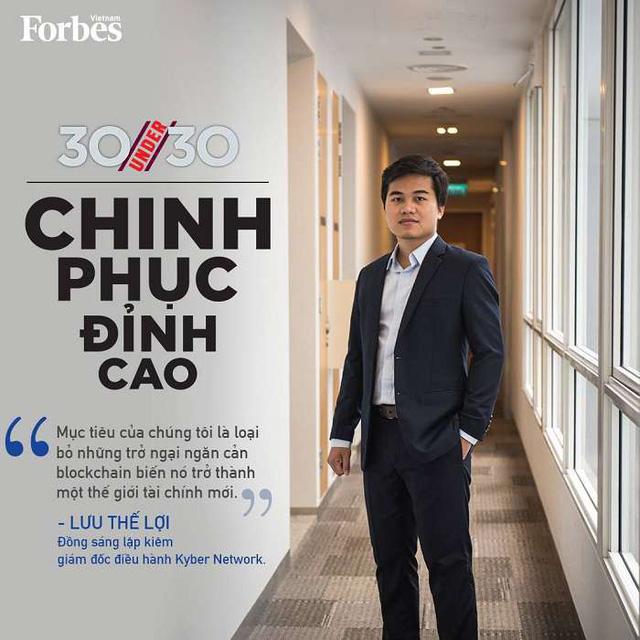 Lợi Lưu trên tạp chí Forbes
