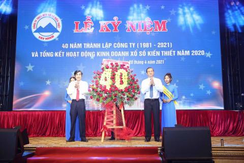 Xổ số kiến thiết Tây Ninh: 40 năm hình thành và phát triển