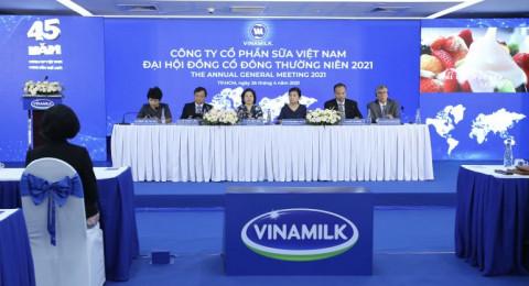 Vinamilk nỗ lực hoàn thành mục tiêu cam kết trong đại hội cổ đông