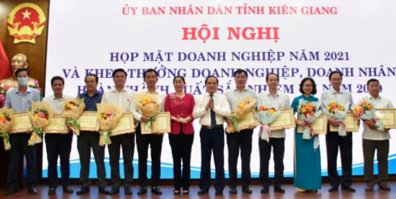 Kiên Giang tổ chức họp mặt doanh nghiệp năm 2021