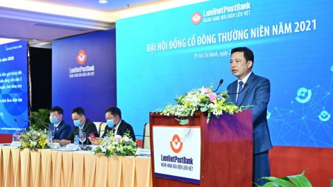 Liên Việt Post Bank tổ chức Đại Hội đồng Cổ đông và kế hoạch kinh doanh năm 2021