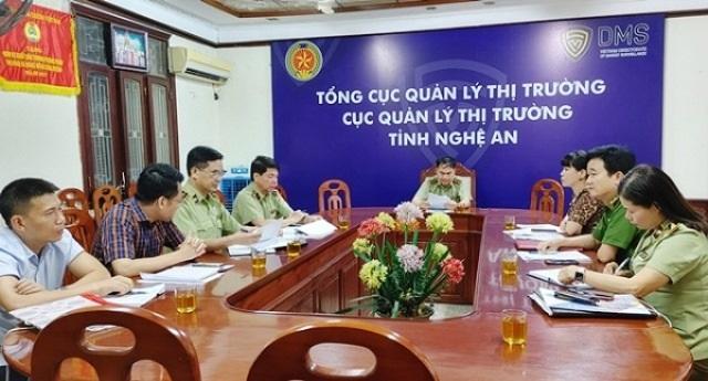 Nghệ An: Đoàn liên ngành kiểm tra đột xuất doanh nghiệp, cơ sở kinh doanh xăng dầu