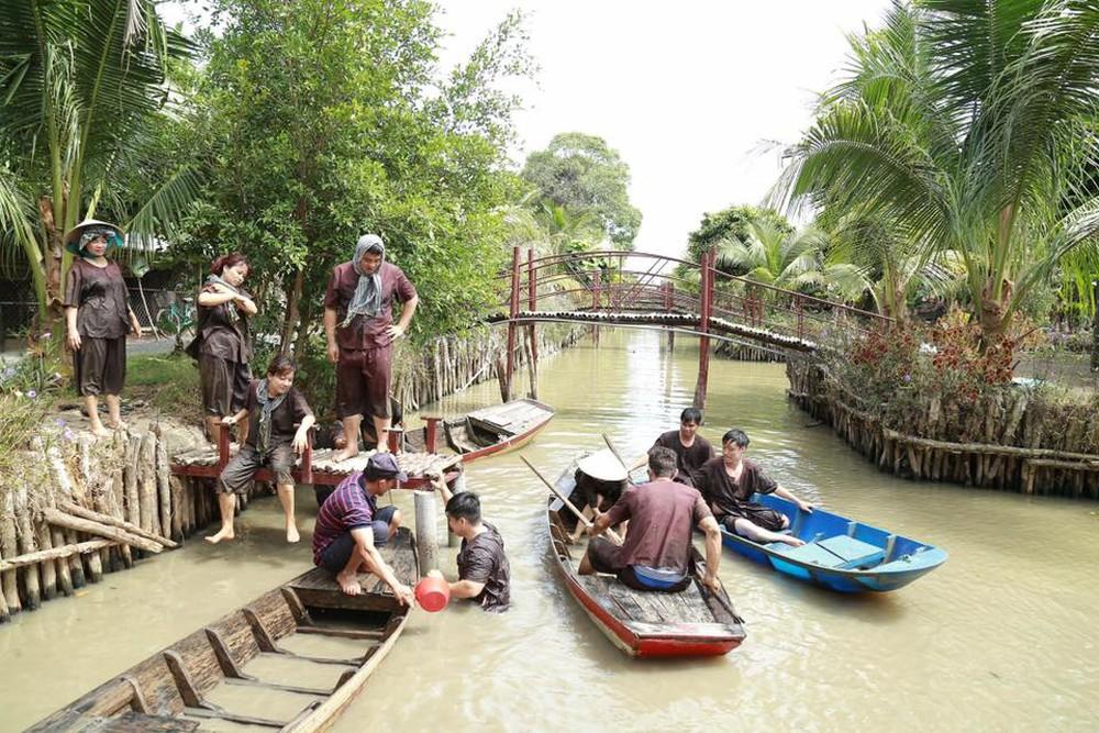 Mô hình du lịch sinh thái Miệt vườn miền Tây thu hút khách du lịch (nguồn: Internet)