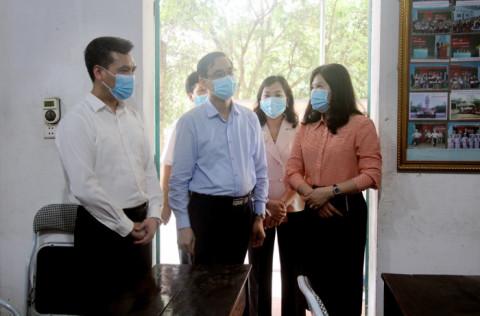 Ủy ban MTTQ tỉnh Phú Thọ kiểm tra công tác bầu cử tại huyện Thanh Ba