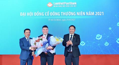 Ông Nguyễn Đức Thụy giữ chức Phó Chủ tịch HĐQT LienVietPostBank