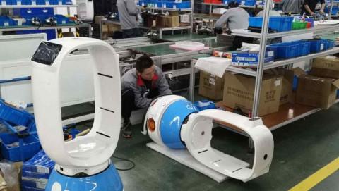 Kỳ lân Robot của Trung Quốc đã sẵn sàng phục vụ cho cả thế giới