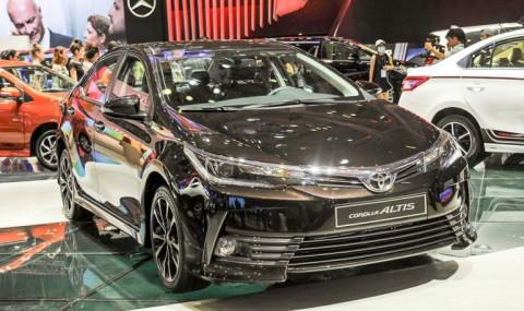 Toyota triệu hồi xe Corolla Altis do lỗi bơm nhiên liệu