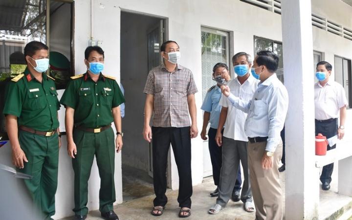 Kiên Giang: Yêu cầu người dân tuân thủ việc đeo khẩu trang và thông điệp 5K của Bộ Y tế