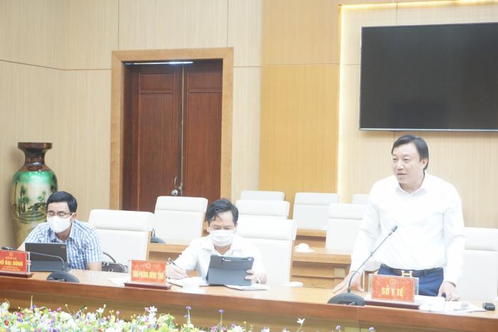 Sở y tế Phú Thọ báo cáo về diễn biến tình hình dịch bênh.