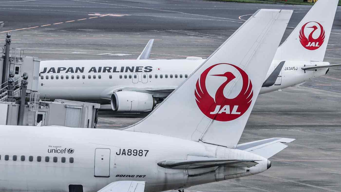 Hãng hàng không quốc gia Nhật Bản đã bị ảnh hưởng nặng nề bởi lượng hành khách giảm. (Ảnh của Akira Koda)