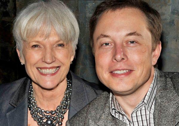 Maye Musk và con trai Elon Musk