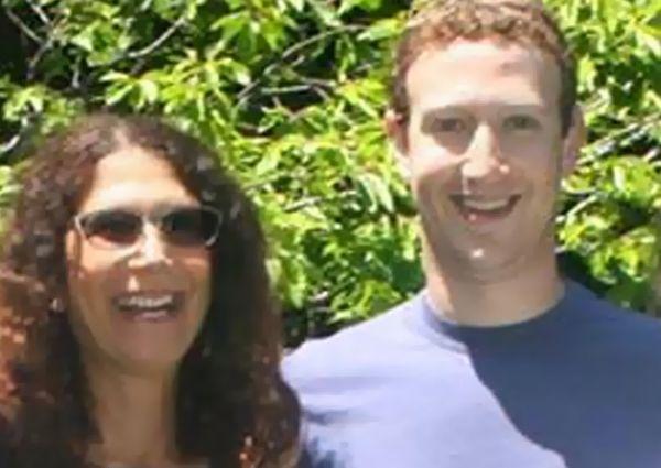 Karen Kempner và Mark Zuckerberg