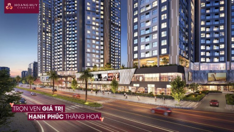 Hải Phòng: Lễ khởi công dự án đầu tư xây dựng 03 tòa nhà hỗn hợp Hoàng Huy Commerce