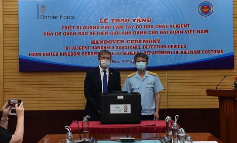 Việt Nam tăng cường hợp tác trong lĩnh vực hải quan với Anh