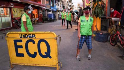 GDP của Philippines giảm 4,2% trong quý 1 do sự bùng phát dịch Covid-19