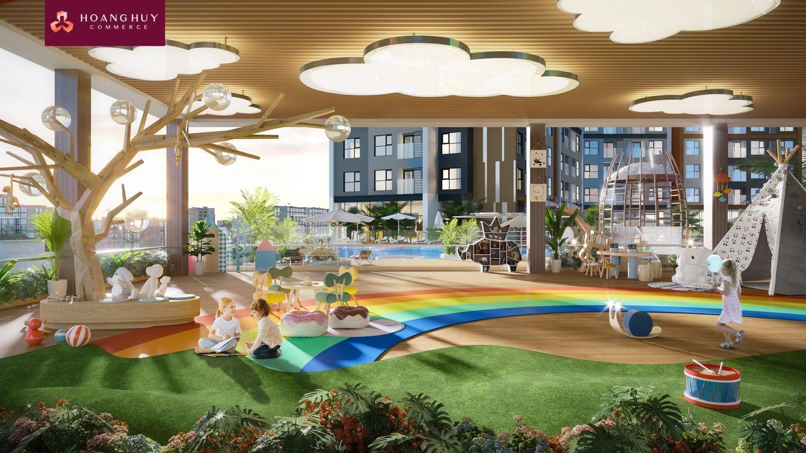 Phối cảnh dự án tòa nhà hỗn hợp Hoàng Huy Commerce