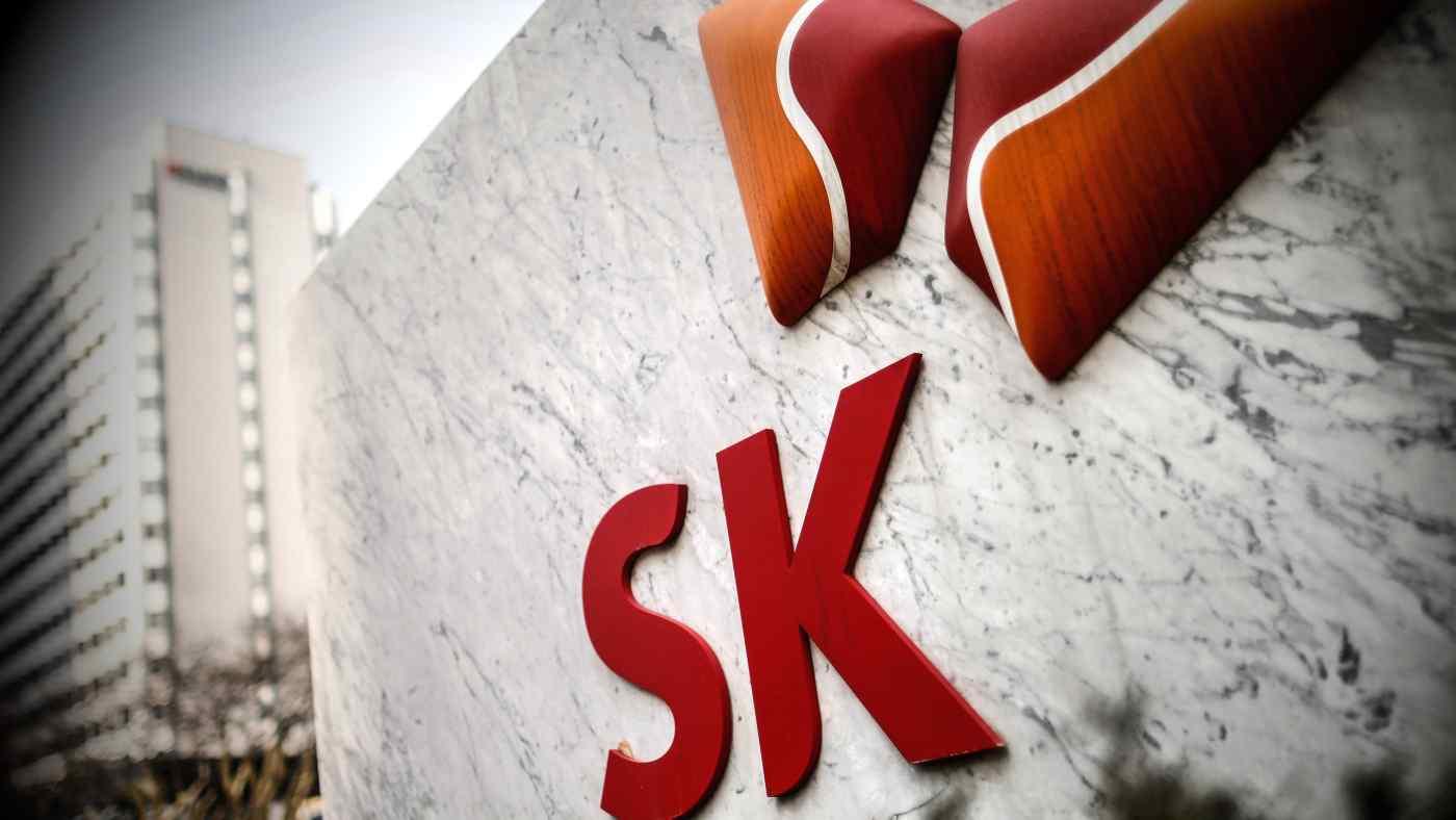 Cổ phiếu của SK IE Technology, chi nhánh vật liệu pin của SK Innovation, đã bắt đầu giao dịch trên thị trường chứng khoán Seoul vào thứ Ba. © Reuters