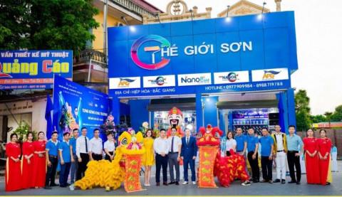 Thế Giới Sơn Bắc Giang- Viên gạch đầu tiên của chuỗi nhượng quyền Công ty CP Tập đoàn Thế Giới Sơn