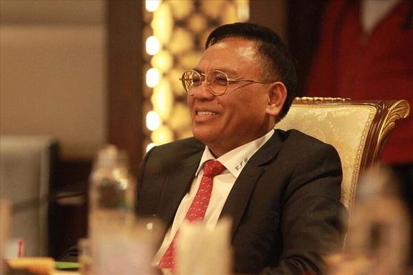 """Ông """"bầu"""" Cao Tiến Đoan, Chủ tịch CLB Đông Á Thanh Hóa"""