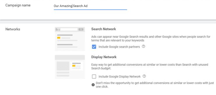 Mua một quảng cáo tìm kiếm trên Google Ads
