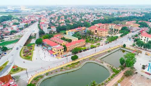 Một góc thị xã Duy Tiên