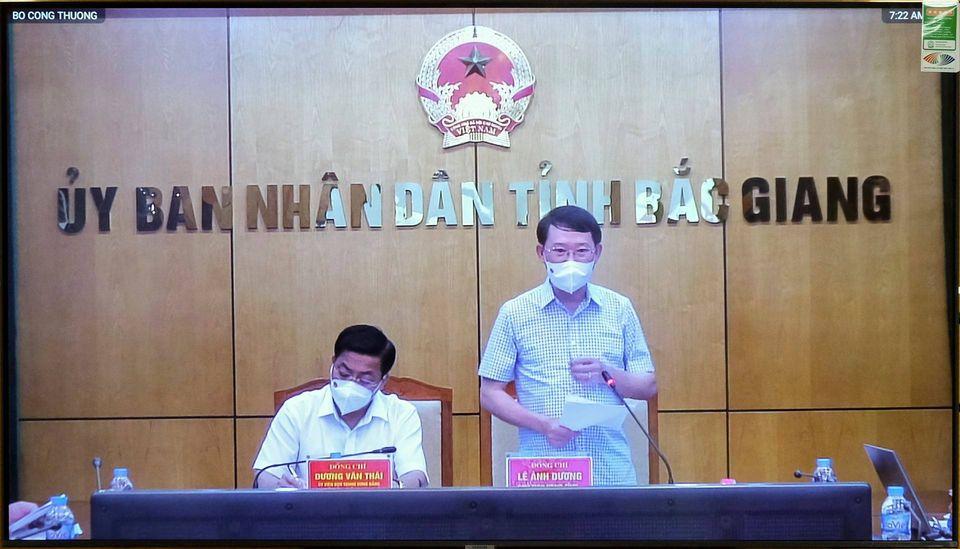 Chủ tịch UBND tỉnh Bắc Giang Lê Ánh Dương