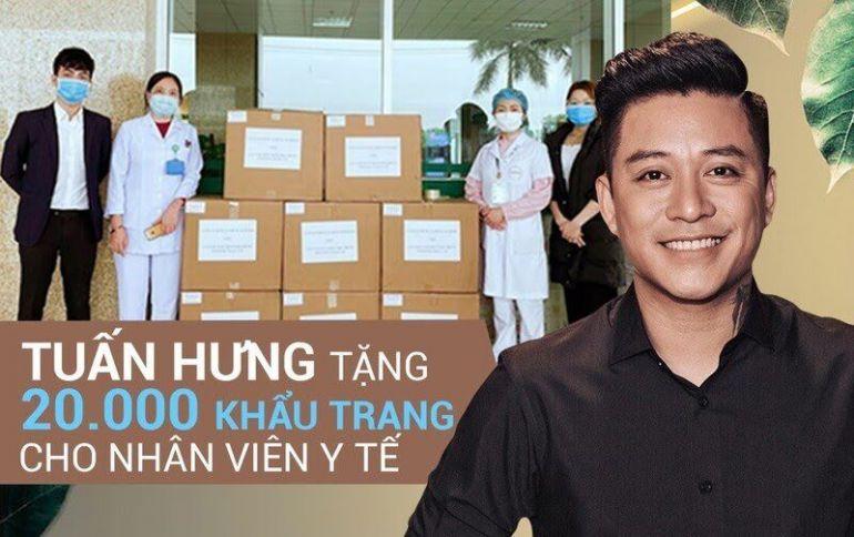 Nghệ sĩ Tuấn Hưng kêu gọi quyên góp ủng hộ Bắc Giang