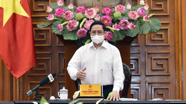 Thủ tướng chỉ đạo đảm bảo an toàn Covid-19 trong các khu công nghiệp