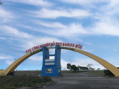 Hà Nội gỡ khó khăn cho Khu công nghiệp hỗ trợ Nam Hà Nội
