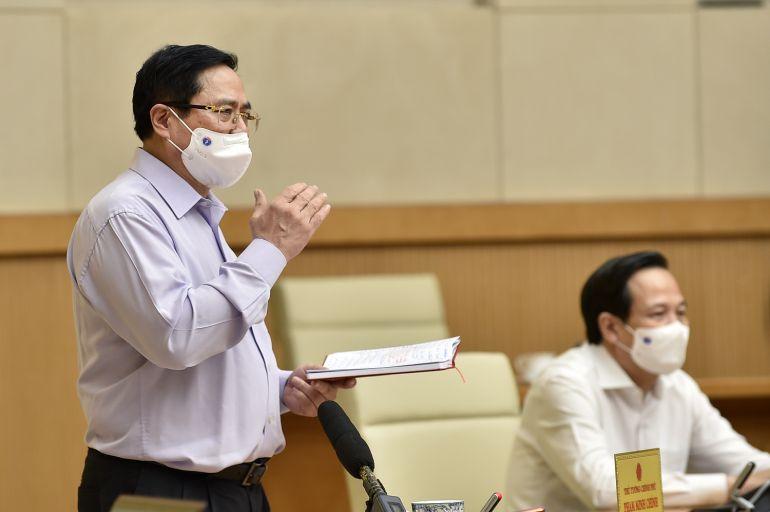 Thủ tướng Phạm Minh Chính: Phải tổng tiến công toàn lực, mạnh mẽ hơn, hiệu quả hơn để dập dịch
