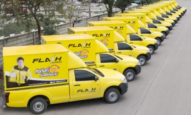 Flash Express hoàn thành vòng gọi vốn 150 triệu USD, trở thành kỳ lân đầu tiên của Thái Lan