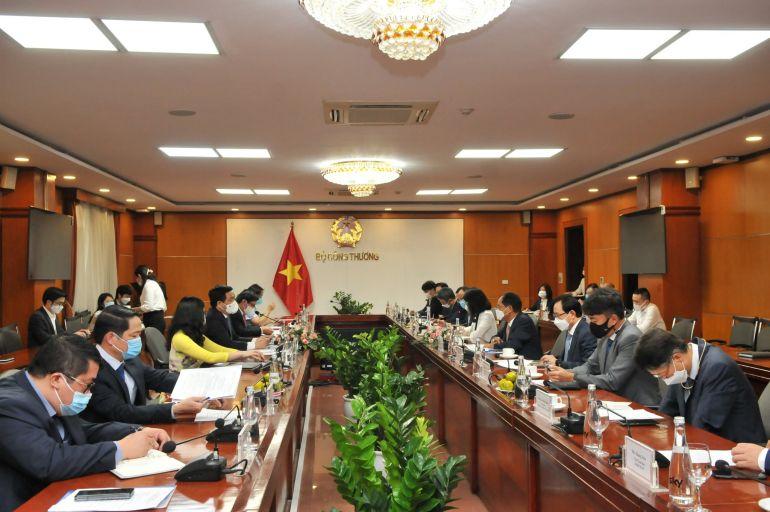 Việt Nam – Hàn Quốc tăng cường trong lĩnh vực thương mại, công nghiệp và năng lượng