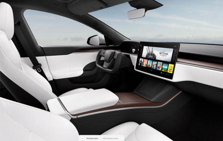 Tesla Model S và Model X kết hợp trang bị khả năng chơi game console