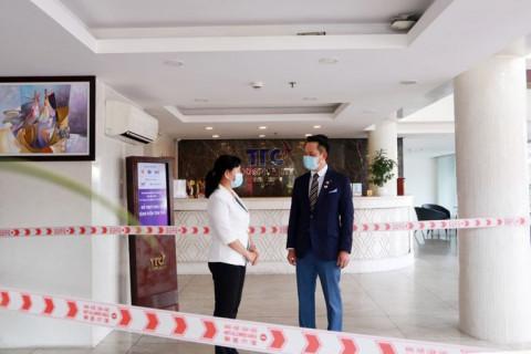 Hội Doanh nhân trẻ Việt Nam, TTC, Sacombank tiếp sức cho hơn 100 y bác sĩ