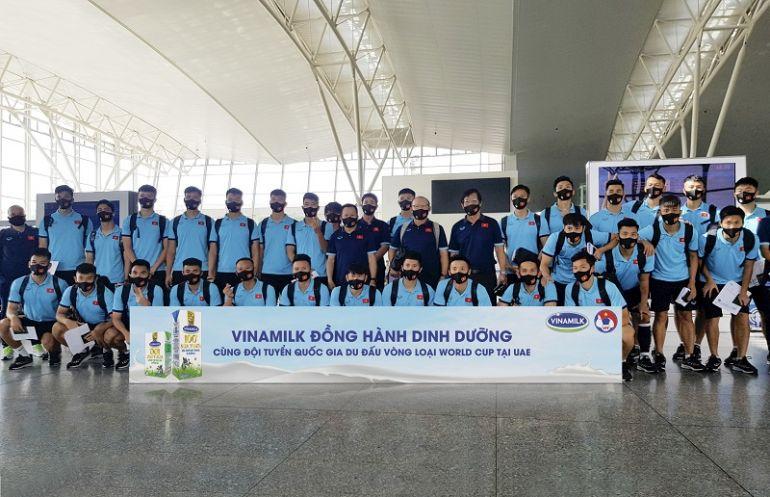 Vinamilk đồng hành cùng đội tuyển bóng đá quốc gia tại vòng loại World Cup 2022