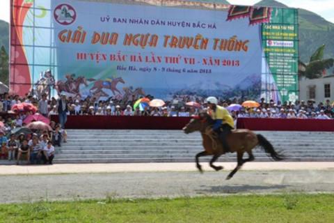 Lào Cai: Lễ hội đua ngựa Bắc Hà được công nhận là Di sản văn hóa phi vật thể Quốc gia