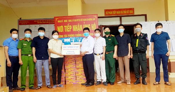 Natrumax Việt nam trao tặng quà tại Xã Hương Lâm, huyện Hiệp Hòa, tỉnh Bắc Giang